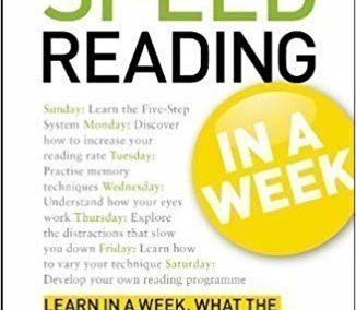 Speed-Reading in a Week