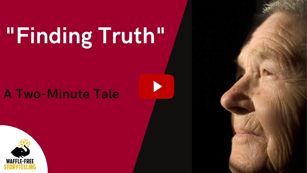 Finding Truth | Waffle-Free YouTube story told by Tina Konstant