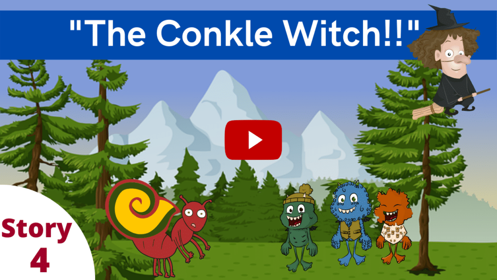 The Conkle Witch! A Waffle-Free Story for Kids from Tina Konstant