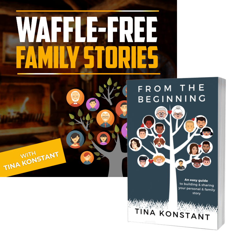 Personal and Family Stories with Tina Konstant